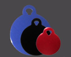 Round DogTags for Pets